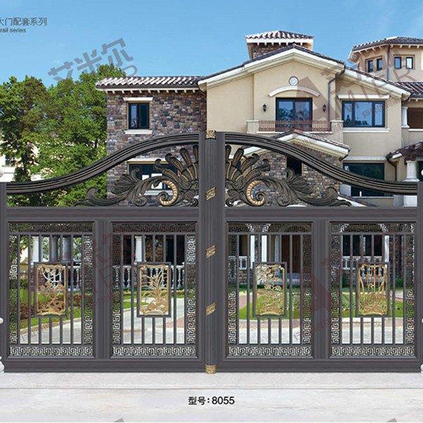 铝艺大门、护栏栅栏 - 1